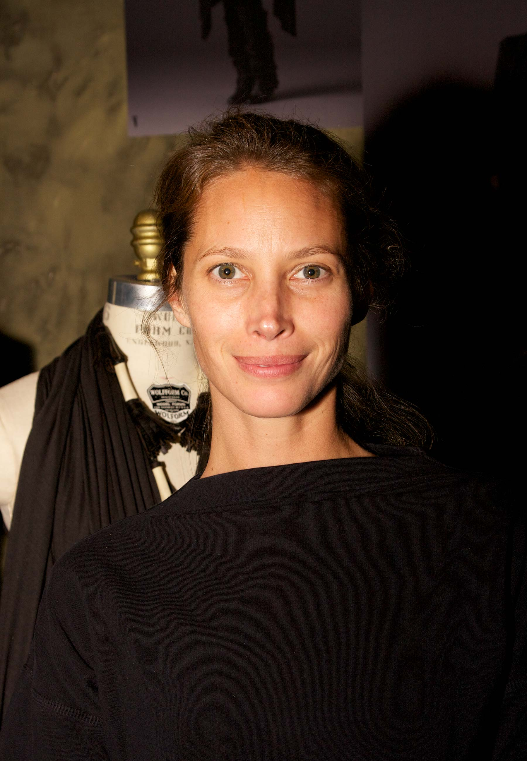 Fashion Model Christy Turlington in NYC