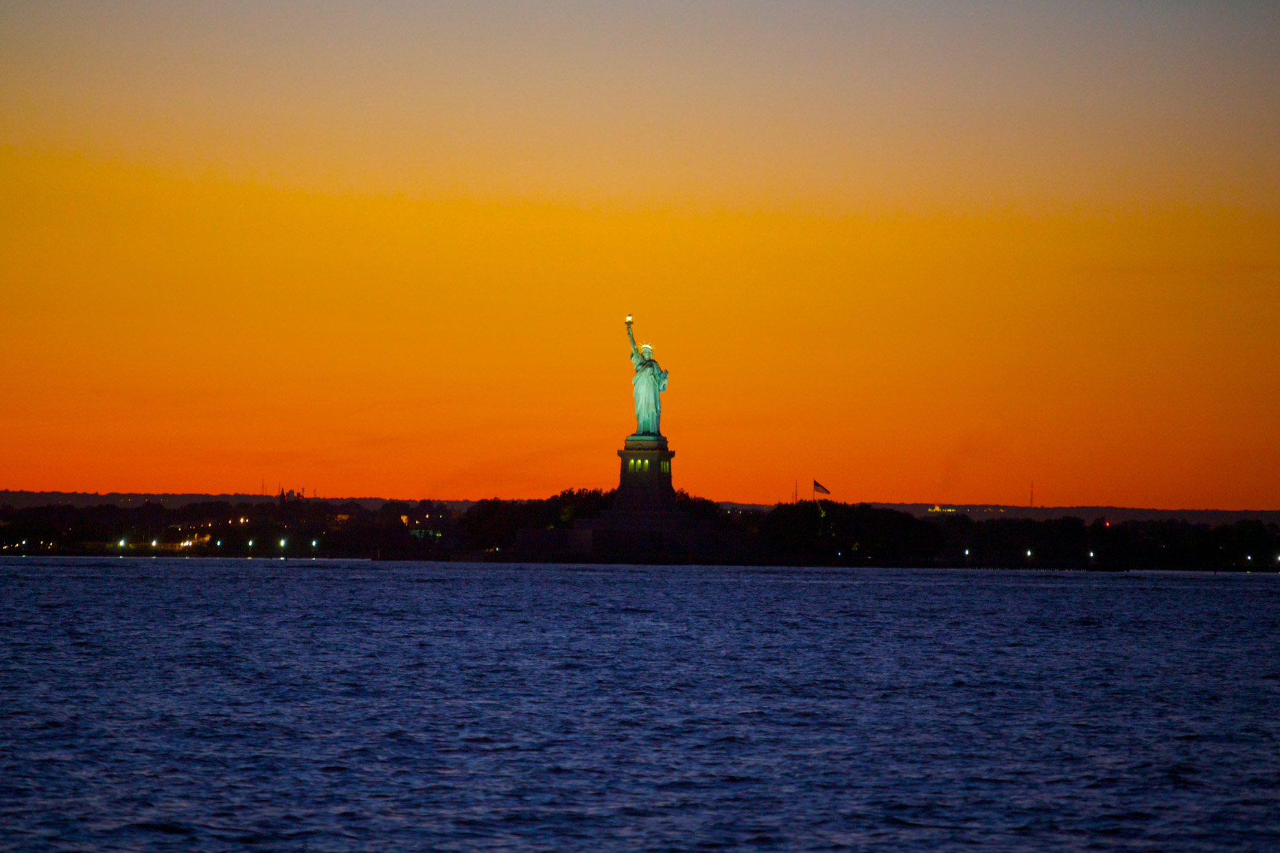 Statue of Liberty in late sunset .jpg
